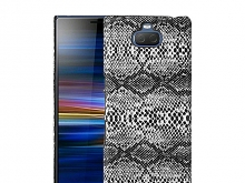 Sony Xperia 10 Plus Faux Snake Skin Back Case