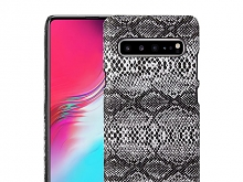 Samsung Galaxy S10 5G Faux Snake Skin Back Case