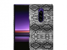Sony Xperia 1 Faux Snake Skin Back Case