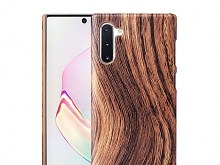 Samsung Galaxy Note10 / Note10 5G Woody Patterned Back Case