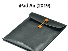 iPad Air (2019) Leather Button Pouch
