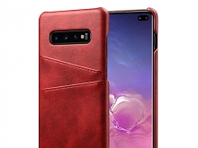 Samsung Galaxy S10+ Claf PU Leather Case with Card Holder