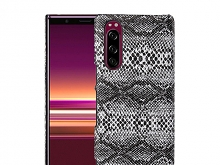 Sony Xperia 5 Faux Snake Skin Back Case
