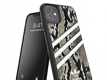 Adidas Moulded Case PU Woman SS20 (Black/Alumina) for iPhone 11 (6.1)