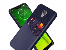 Motorola Moto G7 Power Two-Tone Leather Case with Card Holder