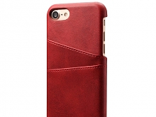 iPhone SE (2020) Claf PU Leather Case with Card Holder