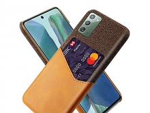 Samsung Galaxy Note20 / Note20 5G Two-Tone Leather Case with Card Holder