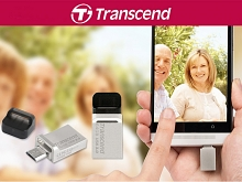 Transcend JetFlash 880 OTG USB 3.0 Flash Drive