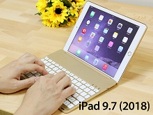 Illuminated Bluetooth Keyboard with Cover for iPad 9.7 (2018)