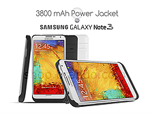 Power Jacket For Samsung Galaxy Note 3 - 3800mAh