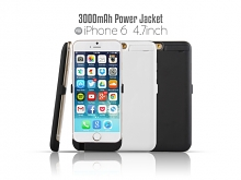 Power Jacket For iPhone 6 / 6s - 3000mAh