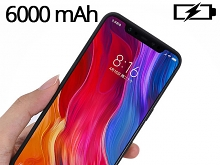 Power Jacket For Xiaomi Mi 8 - 6500mAh