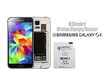QI Standard Wireless Charging Receiver for Samsng Galaxy S5