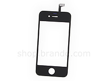 iPhone 4 Replacement Digitizer / Touch Panel with Glass Lens - Black