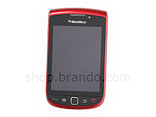 Blackberry Torch 9800 Replacement Front Panel - Red