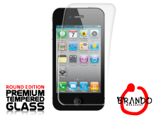 Brando Workshop Premium Tempered Glass Protector (Rounded Edition) (iPhone 4/4s)