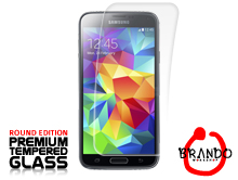 Brando Workshop Premium Tempered Glass Protector (Rounded Edition) (Samsung Galaxy S5)