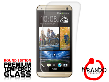 Brando Workshop Premium Tempered Glass Protector (Rounded Edition) (HTC One (M8))