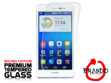 Brando Workshop Premium Tempered Glass Protector (Rounded Edition) (Huawei Ascend P7)