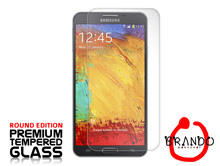 Brando Workshop Premium Tempered Glass Protector (Rounded Edition) (Samsung Galaxy Note 3 Neo)