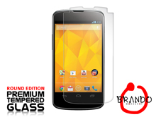 Brando Workshop Premium Tempered Glass Protector (Rounded Edition) (Google Nexus 4 E960)
