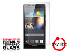 Brando Workshop Premium Tempered Glass Protector (Rounded Edition) (Huawei Ascend P6)