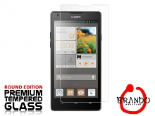 Brando Workshop Premium Tempered Glass Protector (Rounded Edition) (Huawei Ascend G700)