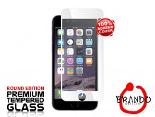 Brando Workshop Full Screen Coverage Glass Protector (iPhone 6) - White