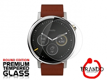 Brando Workshop Premium Tempered Glass Protector (Rounded Edition) (Motorola Moto 360 (2nd gen) 46mm)