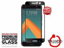 Brando Workshop Full Screen Coverage Glass Protector (HTC 10) - Black