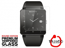 Brando Workshop Premium Tempered Glass Protector (Rounded Edition) (Sony SmartWatch 2 SW2)