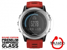 Brando Workshop Premium Tempered Glass Protector (Rounded Edition) (Garmin Fenix 3)