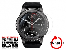 Brando Workshop Premium Tempered Glass Protector (Rounded Edition) (Samsung Gear S3)