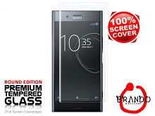Brando Workshop Full Screen Coverage Glass Protector (Sony Xperia XZ Premium) - Transparent