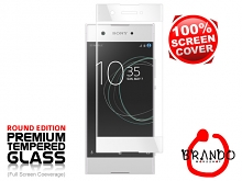 Brando Workshop Full Screen Coverage Glass Protector (Sony Xperia XA1) - White