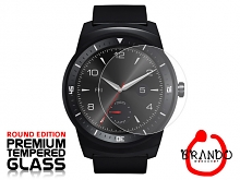 Brando Workshop Premium Tempered Glass Protector (Rounded Edition) (LG G Watch R LGW110)