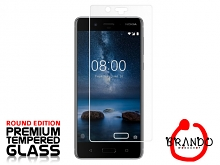 Brando Workshop Premium Tempered Glass Protector (Rounded Edition) (Nokia 8)