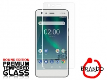 Brando Workshop Premium Tempered Glass Protector (Rounded Edition) (Nokia 2)