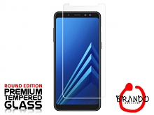 Brando Workshop Premium Tempered Glass Protector (Rounded Edition) (Samsung Galaxy A8+ (2018))