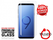 Brando Workshop Full Screen Coverage Curved Glass Protector (Samsung Galaxy S9+) - Transparent