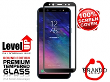 Brando Workshop Full Screen Coverage Glass Protector (Samsung Galaxy A6 (2018)) - Black