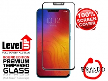 Brando Workshop Full Screen Coverage Glass Protector (Lenovo Z5) - Black