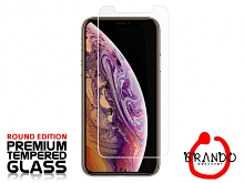 Brando Workshop Premium Tempered Glass Protector (Rounded Edition) (iPhone XS Max 6.5)
