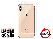 Brando Workshop Premium Tempered Glass Protector (Rounded Edition) (iPhone XS Max (6.5) - Back Cover)