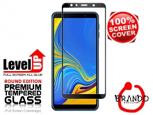 Brando Workshop Full Screen Coverage Glass Protector (Samsung Galaxy A7 (2018)) - Black