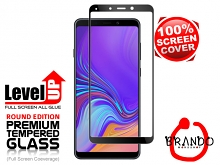 Brando Workshop Full Screen Coverage Glass Protector (Samsung Galaxy A9 (2018)) - Black