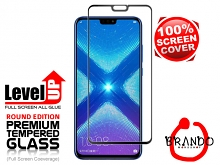 Brando Workshop Full Screen Coverage Glass Protector (Huawei Honor 8X) - Black