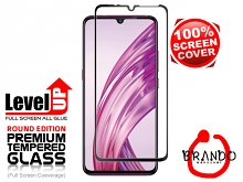 Brando Workshop Full Screen Coverage Glass Protector (vivo X23) - Black