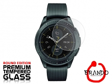 Brando Workshop Premium Tempered Glass Protector (Rounded Edition) (Samsung Galaxy Watch - 42mm)
