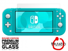 Brando Workshop Premium Tempered Glass Protector (Rounded Edition) (Nintendo Switch Lite)